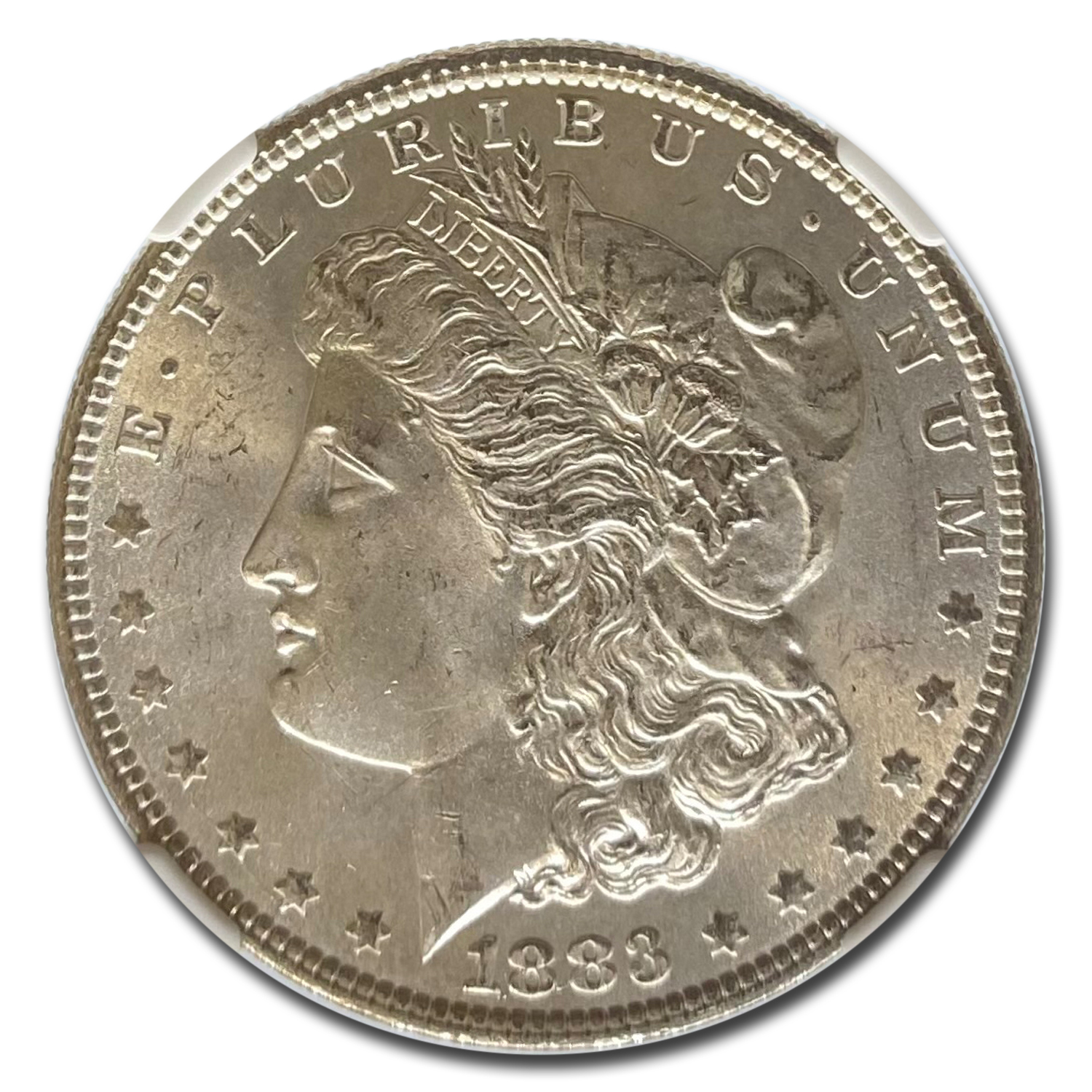 1883 Morgan Dollar MS-65 NGC